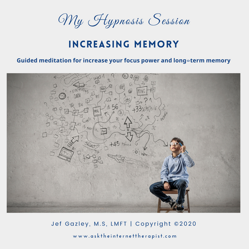 Increasing Memory Hypnosis MP3