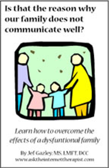 Is that the reason why our family does not communicate well? (Book)