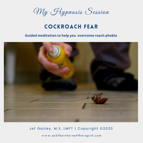 Cockroach Fear Hypnosis MP3