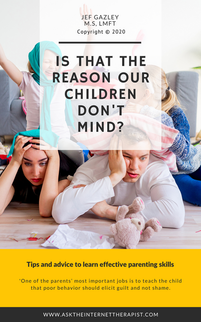 Is that the reason our children don't mind? (eBook)