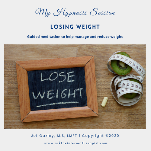 Losing Weight Hypnosis CD