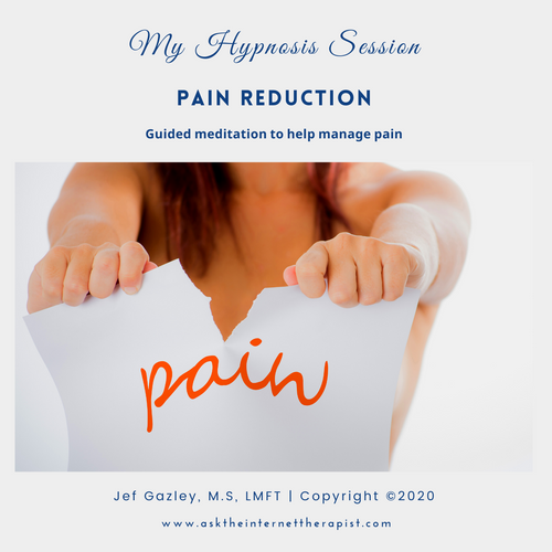 Pain Reduction Hypnosis CD