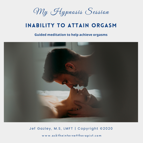 Inability to Attain Orgasm Hypnosis CD