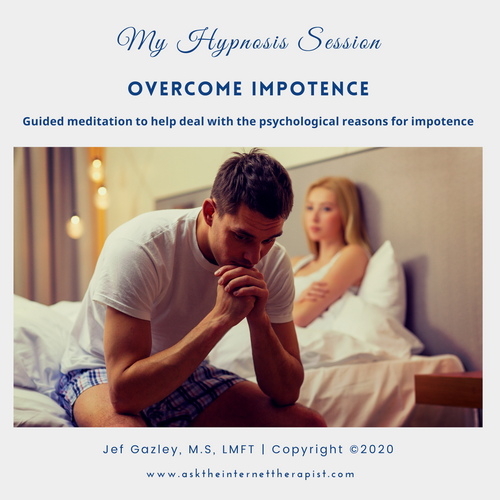 Overcome Impotence Hypnosis CD