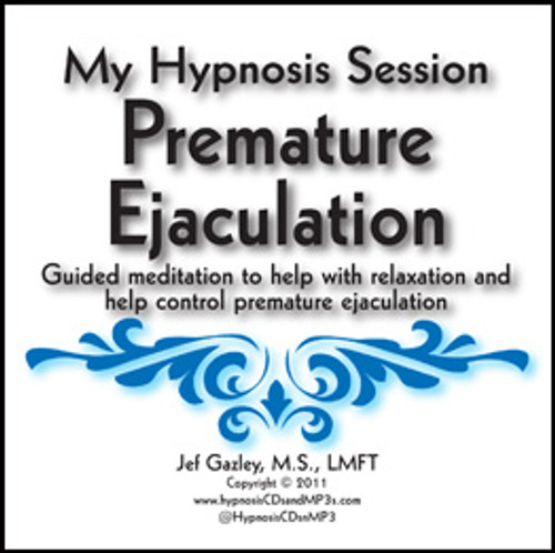 Premature Ejaculation Hypnosis CD