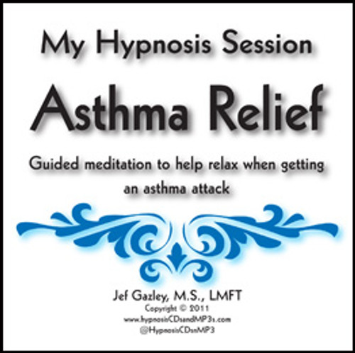 Asthma Relief Hypnosis CD