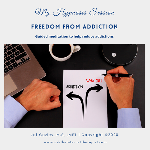 Freedom From Addiction Hypnosis CD