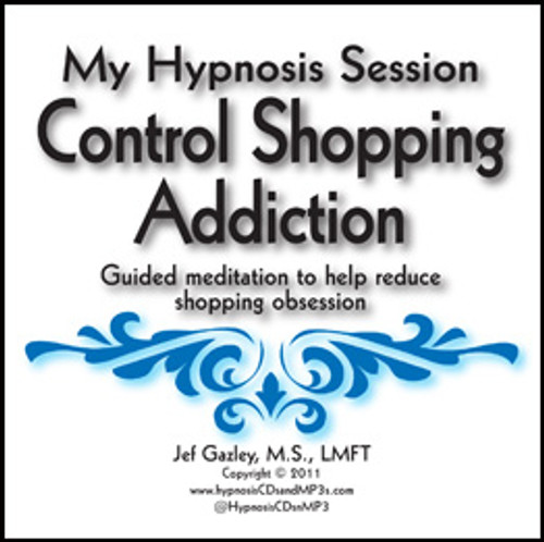 Control Shopping Addiction Hypnosis CD
