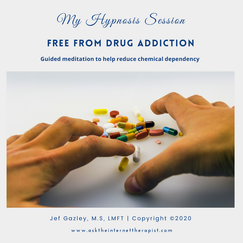 Free from Drug Addiction Hypnosis CD