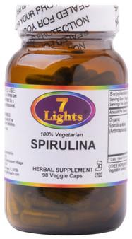ORGANIC SPIRULINA (90 V-CAPS)