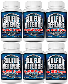 SULFUR DEFENSE MSM CAPS (6-PACK SPECIAL)