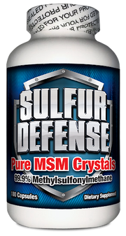 SULFUR DEFENSE MSM CAPS (180 CAPS)