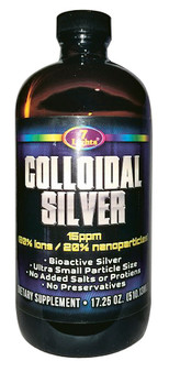 COLLOIDAL SILVER (17.25 OZ - 15 PPM)