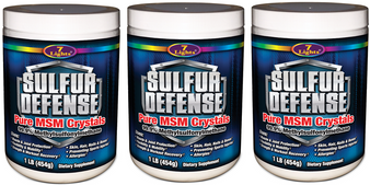 Sulfur Defense - 3 Pack Special