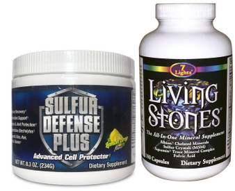 SULFUR DEFENSE PLUS & LIVING STONES COMBO