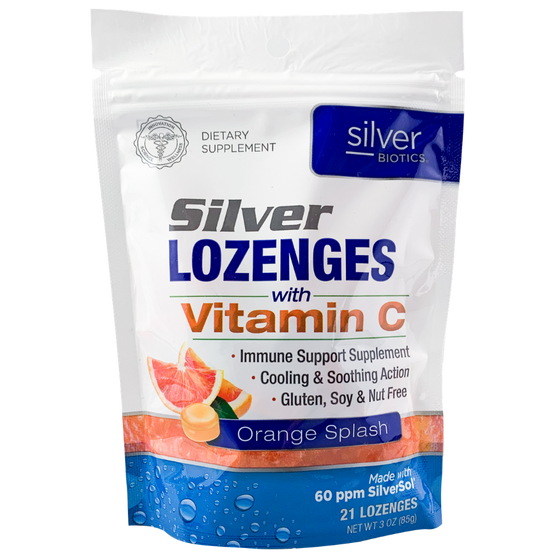 SILVER BIOTICS SILVER LOZENGES (21 PER BAG)