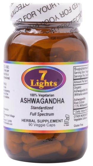 ASHWAGANDHA (90 V-CAPS)