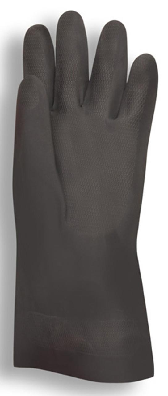 4360: Premium/30-Mil/Black Neoprene Gloves - 12 Pack
