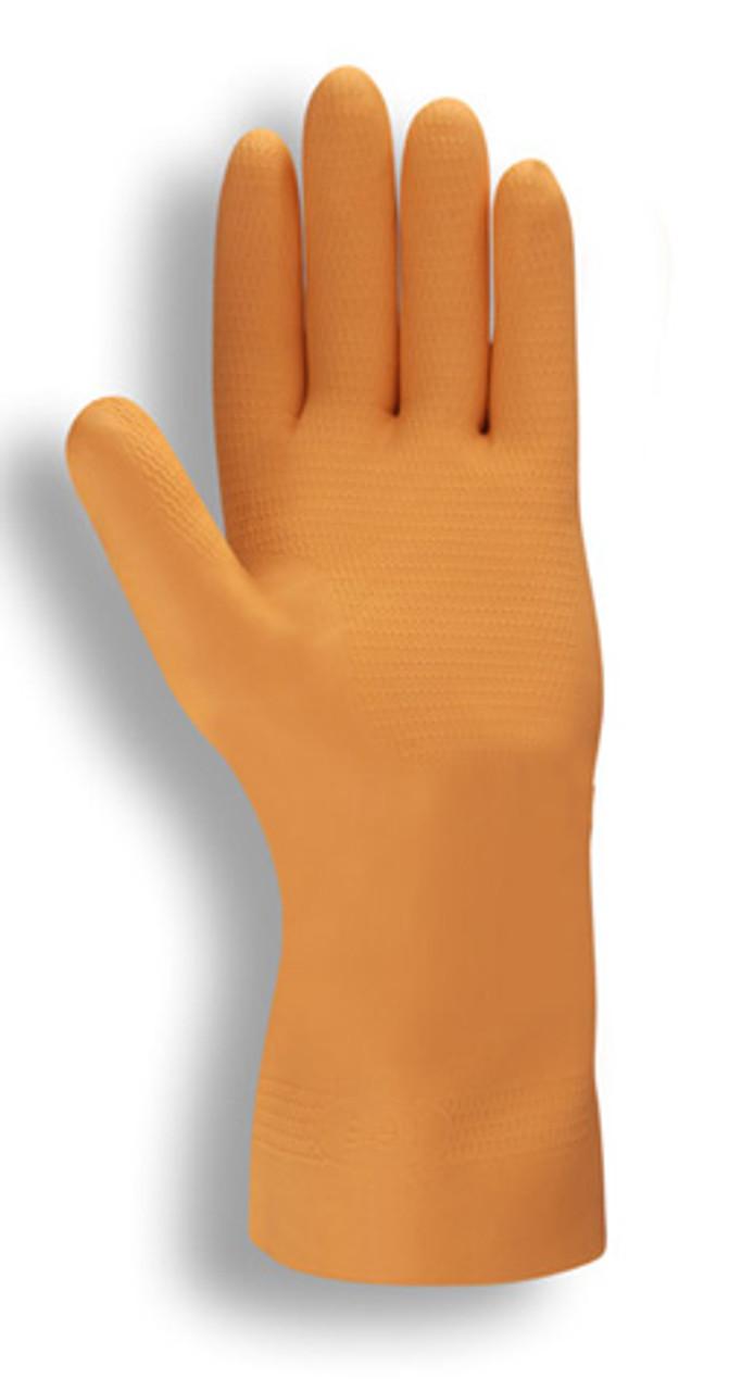 4340: Premium/28-Mil/Orange Neoprene Gloves - 12 Pack