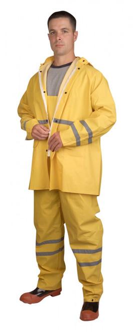 HV353Y: Riptide 3-Piece Yellow Rain Suit