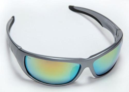 E03S95: Aggressor Fusion Orange Lens, Gun Metal Frame Safety Glasses - 12 Pack