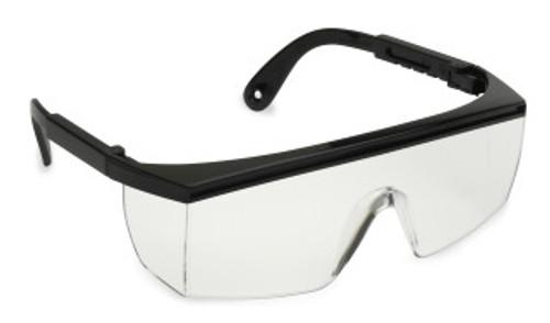 EAB10S: Citation Clear Lens, Black Frame Safety Glasses - 12 Pack