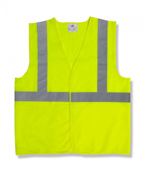 V221: Type R Class II Solid Lime Safety Vest