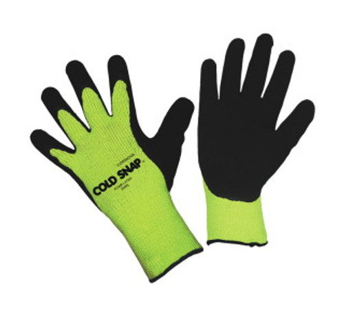 3999: Cold Snap/Latex Palm Coated Gloves - 12 Pack