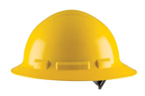 H34S: Duo Full Brim Style, 4-Point Nylon Pinlock Suspension Safety Helmet