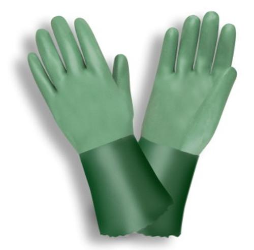6872: Medium Weight/Green/Neoprene Dipped Gloves - 12 Pack
