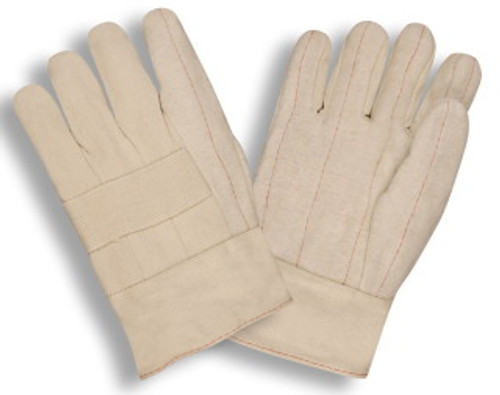 2515: Hot Mil/Heavy Weight/Band Top Gloves - 12 Pack