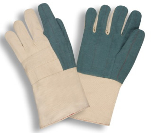 2525G: Hot Mil/Heavy Weight/Gauntlet Gloves - 12 Pack