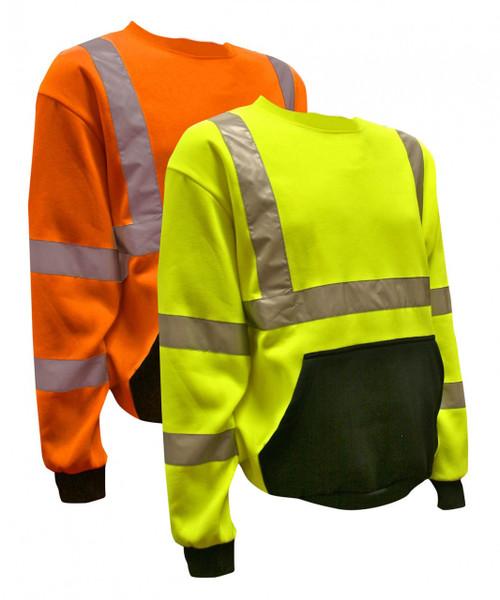 SS100/SS101: Class III Hi-Vis Long Sleeve Pullovers