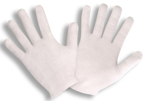 1120L: Medium Weight Lisle Inspector Gloves - 12 Pack