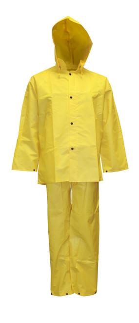 R8023FR: Defiance FR 3-Piece Rain Suit Front