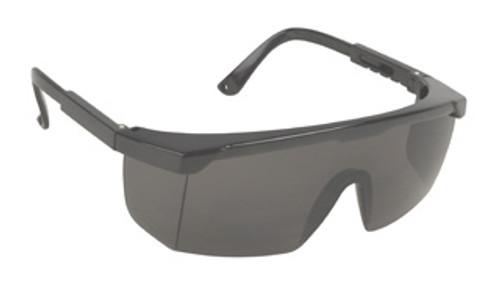 EJB20S: Retriever Gray Lens, Black Frame Safety Glasses - 12 Pack