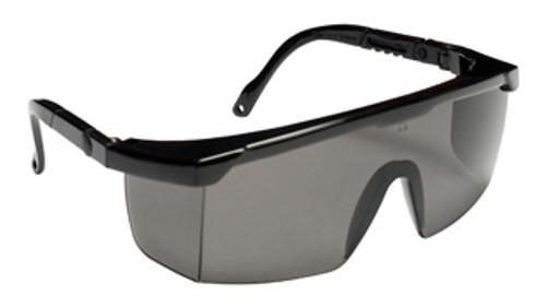 EMB20S: Retriever II Gray Lens, Black Frame Safety Glasses - 12 Pack