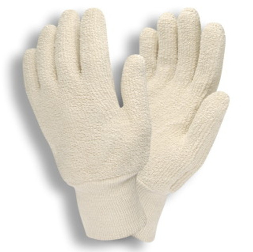 3218: Terry Cloth/Loop Out Gloves - 12 Pack