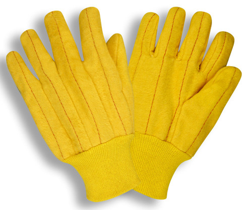 2318: Yellow Full Chore Gloves - 12 Pack