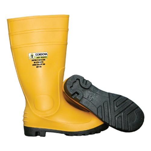 PB33: Yellow PVC Boots