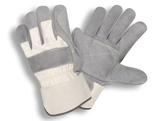 1051: Side Split/Double Palm Gloves - 12 Pack