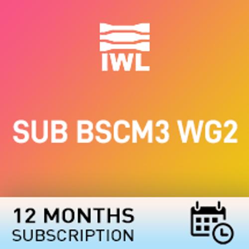 SUB BSCM3 WG2