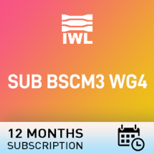 SUB BSCM3 WG4