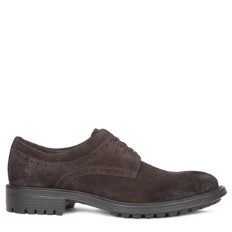 Men's Lug Sole Waxed Suede Lace-Up Shoes GB 7218019 DBV