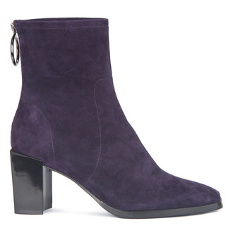 Women's Purple Suede Ankle Boots GR 5368519 DVS
