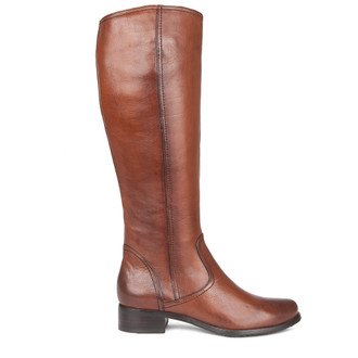 Women's Long Burnished Leather Boots GP 5489019 CGA