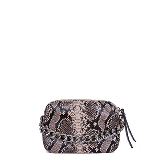 Python Print Leather Mini Bag Rimini  YG 5104119 BRZ