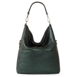 Emerald Leather Convertible Bag Bologna YG 5355819 GNZ