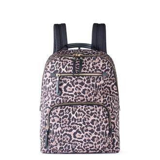 Leopard Print Nylon Backpack Reykjavik  YT 5448829 LEO
