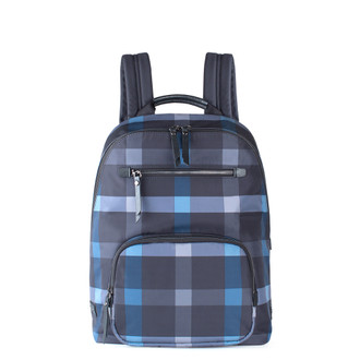 Grey and Blue Nylon Backpack Reykjavik  YT 8448829 BLG
